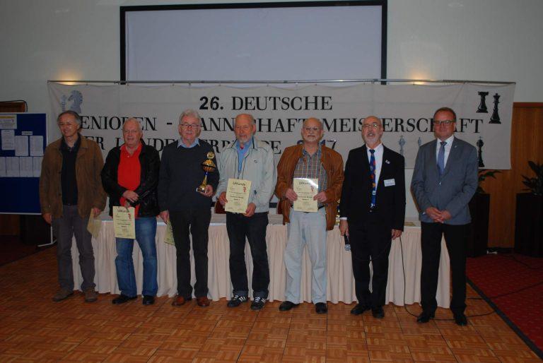 Deutscher Senioren-Mannschaftsmeister 2017: Baden 1